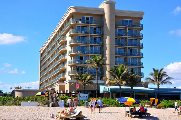 Hilton on Singer Island Florida an oceanfront hotel
