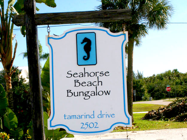 Seahorse Beach Bungalow hotel in Ft. Pierce Florida