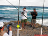 William Fundora setting up the rods during the 2009 Blacktip Challenge shark fishing tournament in Florida