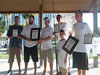 Winners of the 2011 Blacktip Challenge shark fishing tournament in Florida