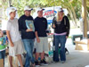 Team Barrett won the most sharks prize in the 2013 Blacktip Challenge shark fishing tournament in Florida